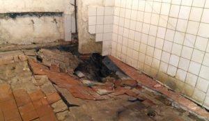 В Челябинском общежитии ввели режим ЧС