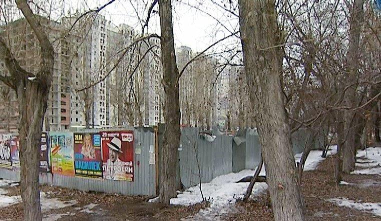 Уплотнительная застройка в Челябинске