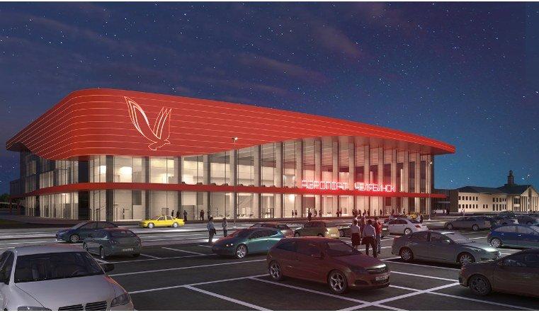 Новый терминал внутренних авиалиний челябинского аэропорта готовят к открытию