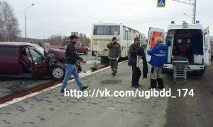 дтп с автобусом под Челябинском