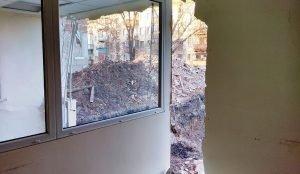 В Магнитогорске обрушилась стена офисного здания