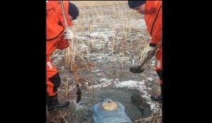 В Миассеизо льда извлекли тело женщины