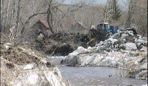 Подготовка к паводку в Магнитогорске