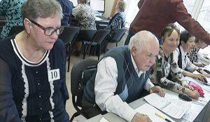 Пенсионеры пришли на региональный этап всероссийского чемпионата по компьютерному многоборью