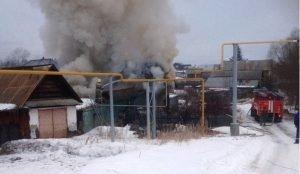 При пожаре в Кыштыме нашли тело 42-летнего мужчины