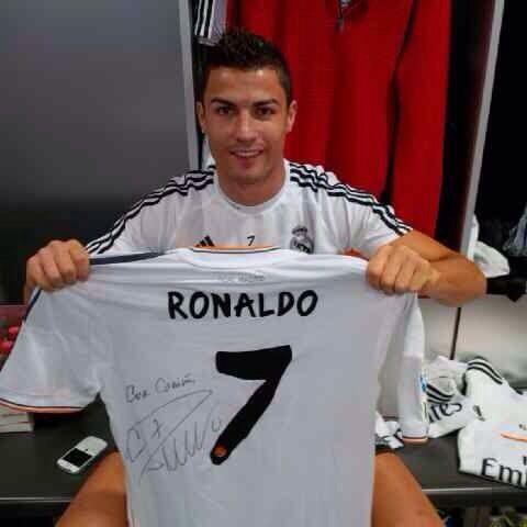 футболка Роналду