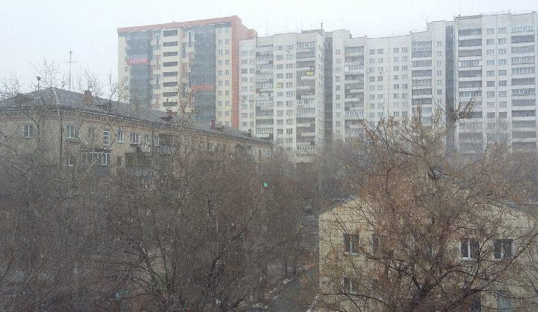 Додь и мокрый снег задержатся на 2 дня на Южном Урале