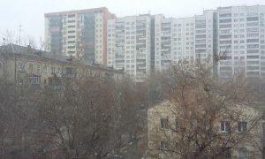 мокрый снег в Челябинске