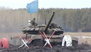 Все задания бойцы выполняли на быстроходных боевых машинах пехоты