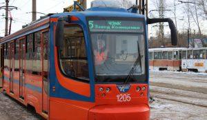 В Челябинске изменят схему движения трамваев