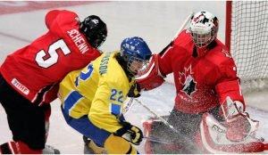 НА юниорском чемпионате по хоккею начались четвертьфинальные игры