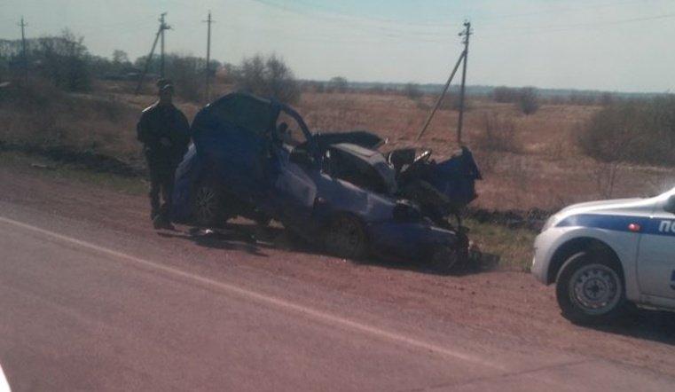 Авария с теря автомобилями на выезде из Челябинска в Курган