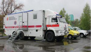 На Южном Урале появился уникальный медицинский КАМАЗ