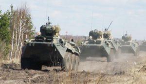 Экзамены для операторов-наводчиков БТР