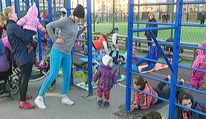 Фитнес-тренировки для молодых мам