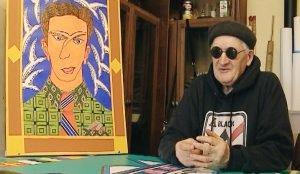 Художник потерял зрение, но не желание творить