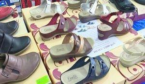 На выставке обуви действуют бонусные программы