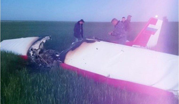 Под Волгоградом разбился летчик из Челябинска