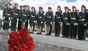 Школьники в бывшем Сталинграде