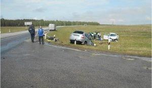 В столкновении двух авттомобилей Лада на Южном Урале пострадали шестеро