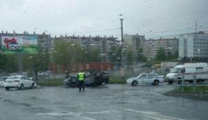 ДТП с 5 пострадавшими на северо-западе Челябинска