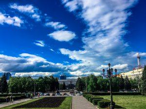 Красивые облака в Челябинске