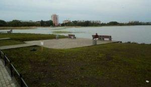 Челябинская гордума решит судьбу набережной на озере Смолино