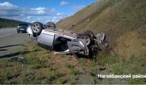 Двое детей пострадали в аварии на южноуральской дороге