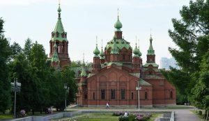 Парковка появится у храма на Алом поле в Челябинске