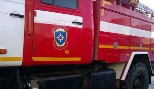 В Челябинске при пожаре чуть не погибли двое детей