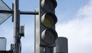 На Троицком тракте не работает светофор