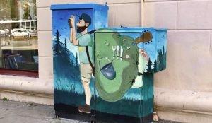 В центре Челябинска появился новый арт-объект