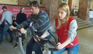 В Екатеринбурге установили велоэлектростанции