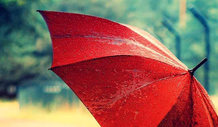 зонт дождь погода