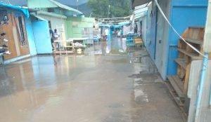 Потоп в Миассе после ливня