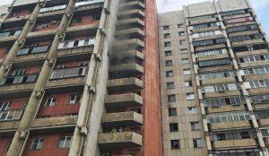 В Магнитогорске загорелся 16-этажный дом
