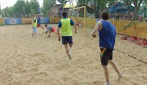 Соревнования по пляжному футболу