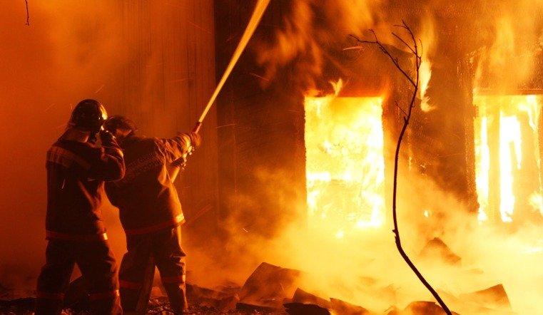 42-летняя женщина погибла при пожаре в Челябинске