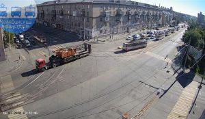 В Челябинске из-за обрыва проводов встали трамваи