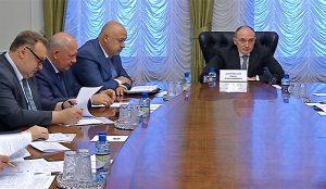 Совещание правительства Челябинской области