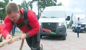 Соревнования по трак-пулу в Челябинске
