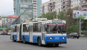 В Челябинске внесены изменения в движение троллейбусов