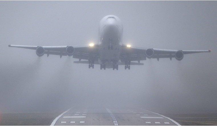 Из-за тумана в Челябинском аэроппорту не смогли сесть самолеты