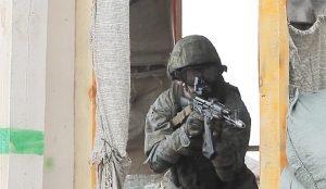 Разведчики ЦВО уничтожили условных боевиков