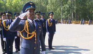 Выпускной офицеров боевого управления