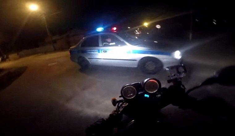 Нетрезвый южноуралец без прав протаранил машину ГИБДД