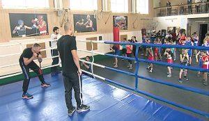 Мастер-класс боксеров