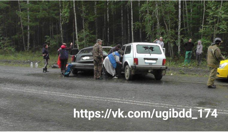 Двое разбились в лобовом ДТП на Южном Урале