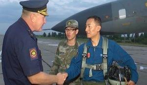 Китайские летчики прибыли в Шагол