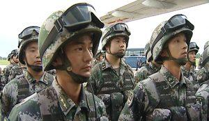 """Китайцы прибыли на """"Мирную миссию"""""""